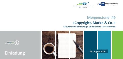 "Morgenstund' #9 ""Copyright, Marke & Co."""